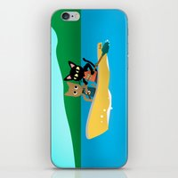 rowing iPhone & iPod Skins featuring Rowing by BATKEI