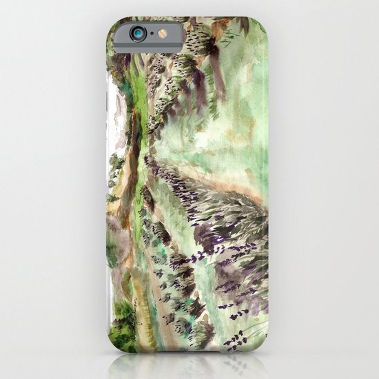 Purple up over the hills iPhone & iPod Case