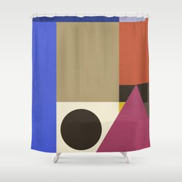 Bee's Knees FIVE (Square) Shower Curtain