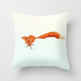 Fox 1 Throw Pillow