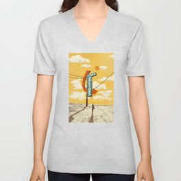 THE DELINES - Official Merch Poster Unisex V-Neck
