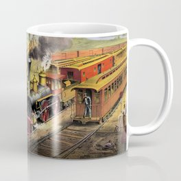 American Railroad Scene (Currier & Ives) Coffee Mug