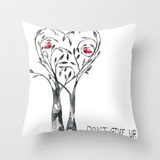 DON'T GIVE UP, JAPAN! Throw Pillow
