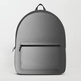 Gray to Black Vertical Bilinear Gradient Backpack