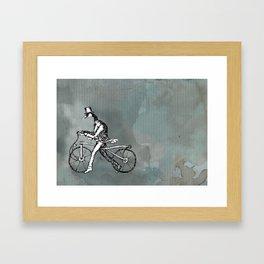 Goose Ride Framed Art Print