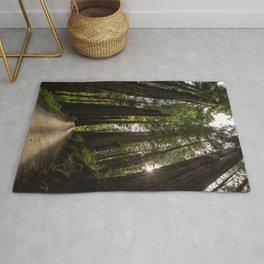 Redwoods Make Me Smile - Nature Photography Rug