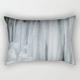 Icicles, No. 3 Rectangular Pillow