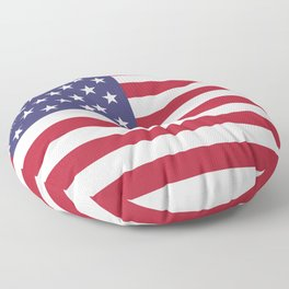 USA National Flag Authentic Scale G-spec 10:19 Floor Pillow