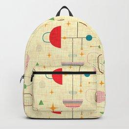 Atomic pattern umbrellas   #midcenturymodern Backpack