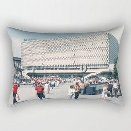 East Berlin Alexanderplatz  Rectangular Pillow