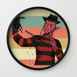 Krueger selfie  Wall Clock