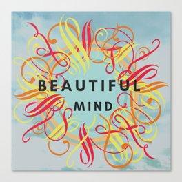 Beautiful Mind Canvas Print