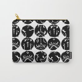 Black French Bulldog Dot Carry-All Pouch