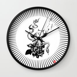DEPARTURE LOUNGE no 5 Wall Clock