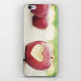 Love apple iPhone Skin