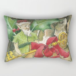 Thorn the Holly Kingdom Gatekeeper Rectangular Pillow