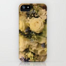 """""""Lauren's Wedding Bouquet"""" iPhone Case"""