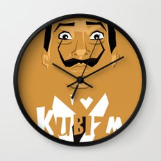 I Love Kubizm Wall Clock