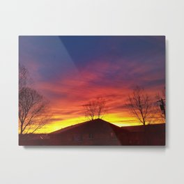 Rising after the fall Metal Print