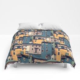 Night Castles (Pattern) Comforters