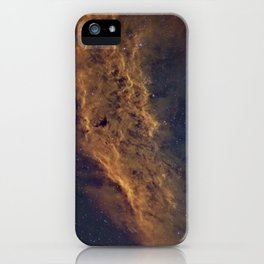 California Nebula iPhone Case