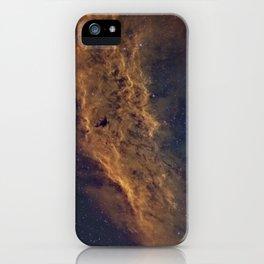 California Nebula iPhone Case