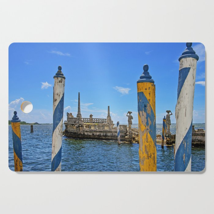 Vizcaya Barge Adventures Cutting Board