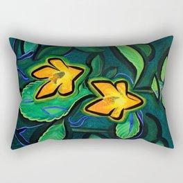 Orange Jewelweed 2.0 Rectangular Pillow