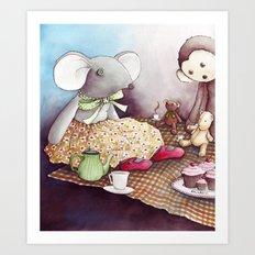 The Teddy Bear Picnic Art Print
