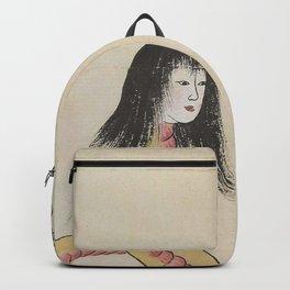 SARA HEBI / SNAKE WOMAN - ARTIST UNKNOWN Backpack