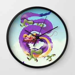 Chinatown New york city. Wall Clock