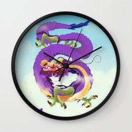 Chinatown New york city. Wall Clock