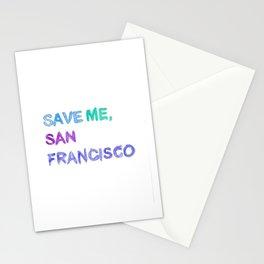 Save Me, San Francisco Stationery Cards