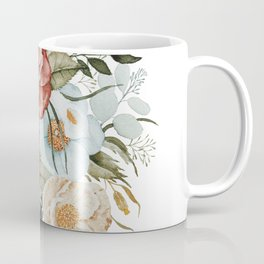 Roses and Poppies Coffee Mug
