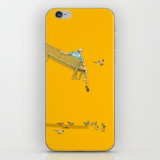 FLOAT - With the pigeons iPhone & iPod Skin