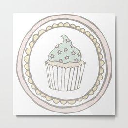 Super Cupcake Metal Print