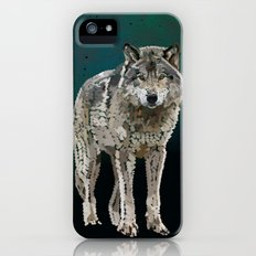 WOLF: THE SILVER HUNTER Slim Case iPhone (5, 5s)