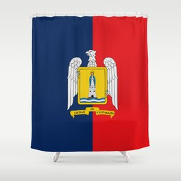 Flag of Valparaiso Shower Curtain