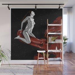 asc 678 - L'amant cosmique (The heavenly dog) Wall Mural