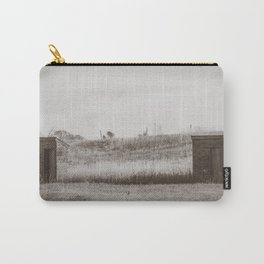 Outhouses, Huff, North Dakota Carry-All Pouch