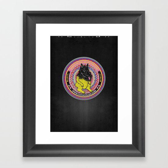 BRUTUS Framed Art Print