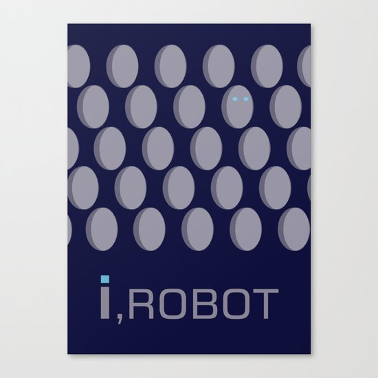 I,Robot Canvas Print