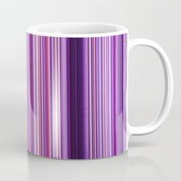 Pink Purple Stripes Coffee Mug