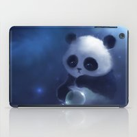 panda iPad Cases featuring Panda by apofiss