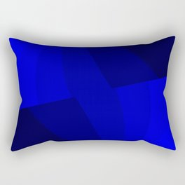 Just Blue #decor #society6 Rectangular Pillow