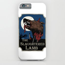 The Slaughtered Lamb iPhone Case