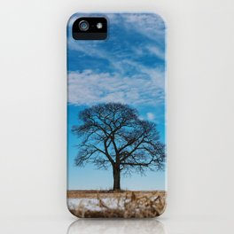 Blue Above iPhone Case