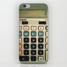 Calculator iPhone & iPod Skin