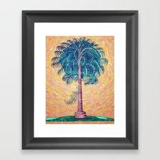 Palmeto tree Framed Art Print