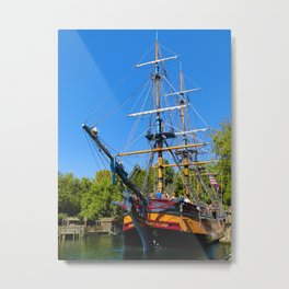 Columbia Sailing Ship (No. 1) Metal Print